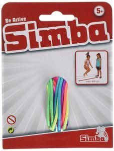 Simba Gummi Twist Hüpfgummi aus Kunststoff für Kinder und Erwachsene
