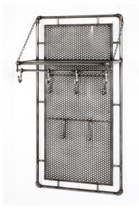 Haku Wandgarderobe anthrazit, teilmontiert; 15889