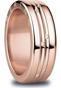 Bering Ring Größe 57 Edelstahl roségold plattiert Arctic Symphony Collection Dillingham 8 : 57