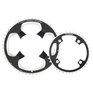 Fsa Powerbox Aluminum 110 Bcd Black / Silver 50t