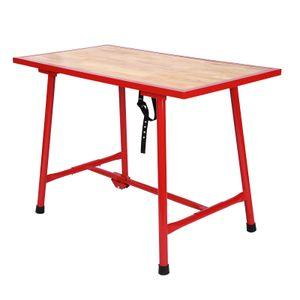Werkbank 120x62,5cm klappbar Werktisch Arbeitstisch Packtisch faltbar