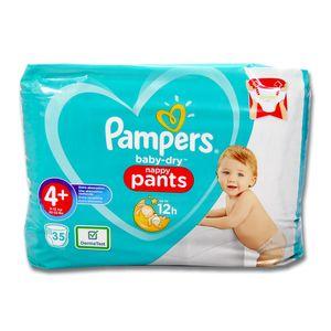 Pampers Baby Dry Pants Größe 4+  35 Windeln