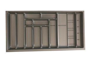 Besteckeinsatz Besteck Besteckkasten Schubladeneinsatz für bis 100cm Schublade