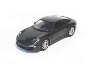 PORSCHE 911 (991) Carrera S Modellauto Modell Auto Metall Spielzeugauto Spielzeug Kinder Geschenk 93  (Anthrazit-Metallic)