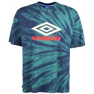 Umbro Calidoscope T-Shirt Herren Erwachsene türkis / neonrot XL