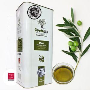 Olivenöl 5 Liter Extra Nativ  aus Kreta, Ernte 2020/ 21, Abfüllung: 05/ 2021, MHD 09.22, seit 1890 Olivenöl Tradition, Cretalea Extra  Virgin Olivenöl
