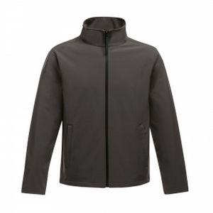 Regatta Herren Softshell-Jacke Ablaze, bedruckbar RG3560 (S) (Dunkelgrau/Schwarz)