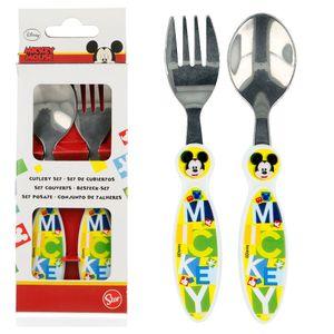 Disney Mickey metal cutlery set