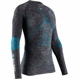 X-BIONIC Energy Accumulator 4.0 Longsleeve Shirt Damen dark grey melange/water green M