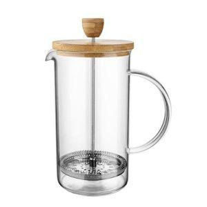 FRENCH PRESS Glas Kaffeebereiter Kaffeekanne Neu FLORINA MOKKA 1 L