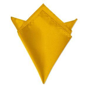 Autiga ® Einstecktuch Kavalierstuch Tuch Taschentuch Polyester Business Hochzeit gelb-orange