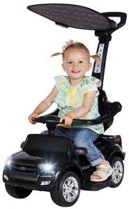 Kinder Rutschauto FORD RANGER Rutscher Rutsch Fahrzeug Bobby Car Elektroauto NEU (Schwarz)