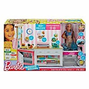 "Barbie ""Cooking & Baking"" Deluxe Küche Spielset & Puppe"