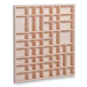 Zeller Setzkasten, Kiefer natur 52x3,5x46