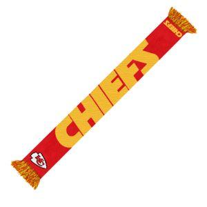NFL Kansas City Chiefs Fanschal Schal Scarf Wordmark Football