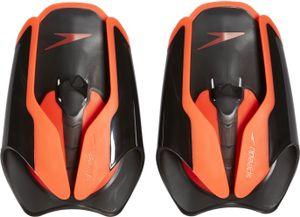 speedo Fastskin Handpaddel black/siren red