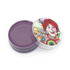 Violettes Aqua Make-Up / Ideal für Halloween, Karneval & Fasching