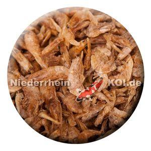 KENKOU® asiatische Garnelen 2-4cm |0,9 kg | Koifutter | Reptilienfutter |
