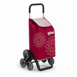 Gimi 150-7935010000 Tris Einkaufsroller Red H:102cm, Tragkraft: 30kg, rot