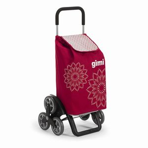 Gimi 150-7935010000 Tris Einkaufsroller Red H:102cm, Tragkraft: 30kg, rot (1 Stück)