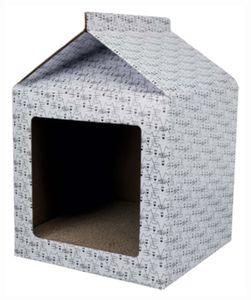 krabbenhaus 48 x 34 cm Karton weiß