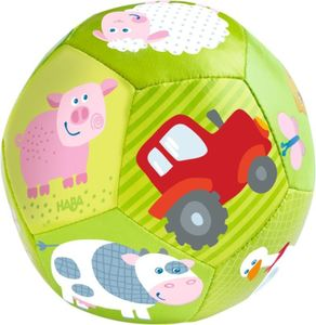 Haba baby Ball Farm grün 10,5 cm