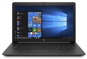 HP 17-by2525ng Notebook (28Z04EA#ABD) 43,9 cm (17,3 Zoll) HD+ 1600x900p, Intel Pentium Gold 6405U, 8 GB RAM, 512 GB SSD, Windows 10 Home, QWERTZ, Schwarz