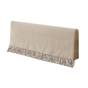 1 Stück Bett Kopfteil abdecken , (NUR Bezug, Kopfteil nicht im Lieferumfang enthalten) Farbe Champagner