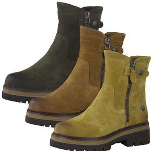 MARCO TOZZI Damen Stiefeletten Boots Leder 2-86400-27, Größe:40 EU, Farbe:Grün