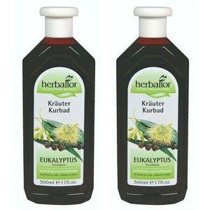 Herbaflor Kräuter Bad Eukalyptus 2 x 500 ml