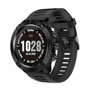 Smartwatch Bluetooth Armband Fitness Tracker Herzfrequenz Pulsuhr Blutdruck Uhr Sportuhr Wasserdicht IP67 Android iOS Schwarz