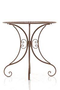 CLP Tisch Hari, Farbe:antik braun
