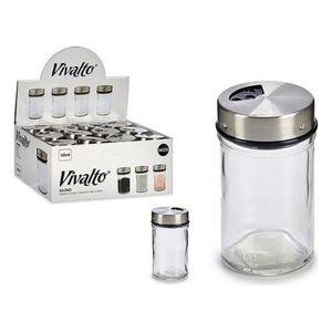 Salzstreuer mit Deckel Durchsichtig (100 ml) (1 pcs)
