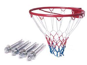 ENERO Basketballkorb 43 cm HangRing Basketballkorb indoor outdoor Basketballring