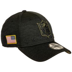 New Era - NFL Shield 2020 Salute to Service 39Thirty Stretch Cap - Grau : Grau M-L