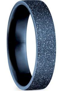 Bering Innenring breit Edelstahl Sparkling-Effect blau 557-79-X2, Bering Größe Innenring:10 (U=68mm / Ø=21.6mm)