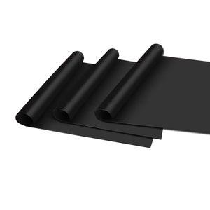 3er Set BBQ Grillmatte Antihaft Dauer Grillmatten |  Glasfaser Grillunterlage | Bratfolie Grill Unterlage Backmatte