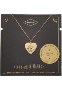 Fossil Damen-Kette Vintage Motifs Edelstahl glänzend JF03243710