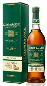Glenmorangie The Quinta Ruban 14 Jahre Cask Finish Highland Single Malt Whisky in Geschenkpackung   46 % vol   0,7 l