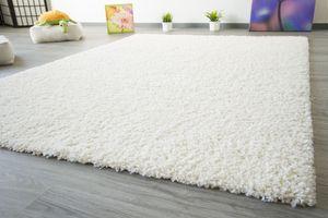 Steffensmeier Shaggy Hochflor Teppich Funny Soft Touch Langflor creme flauschiger Wohnzimmerteppich, Größe: 200x290 cm