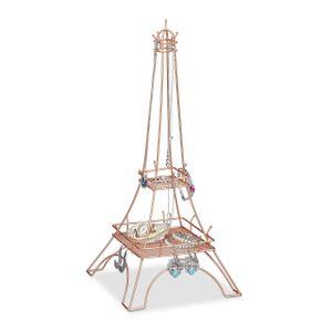 relaxdays Schmuckständer Eiffelturm