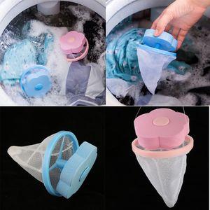 4pcs Wiederverwendbare Fusselbeutel Wäscheball Beutel Netzbeutel Haarentferner Filterbeutel für Waschmaschine