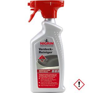 Nigrin Cabrio Verdeck Reiniger speziell für Verdecktextile 500ml