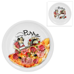2er Set Pizzateller Pizzabäcker 29,5cm
