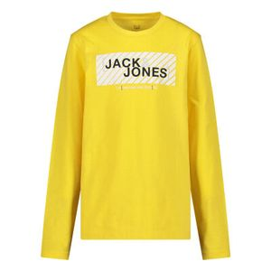 Jack & Jones Jungen Longsleeves in der Farbe Gelb - Größe 164