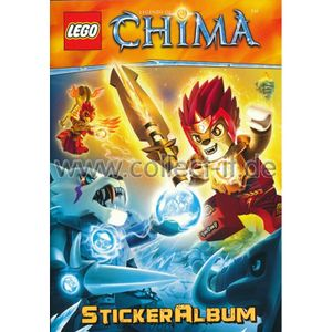 LEGO Legends of Chima - Sammel-Sticker - Stickeralbum
