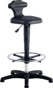 Bimos Sitz-Stehstuhl Flex mit Gleitern,Fußring,Rückenstütze Integralsch. Sitz-Höhe 510-780 - 9419-2000