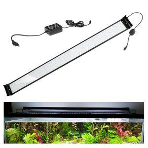 VINGO LED Aquarium RGB &Vollspektrum Aufsetzleuchte Beleuchtung 120-140cm