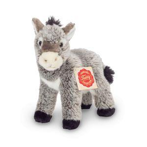 Teddy Hermann 90211 Esel stehend ca. 19cm Plüsch Kuscheltier