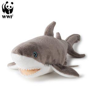 WWF Plüschtier Weißer Hai (38cm) lebensecht Kuscheltier Stofftier Plüschfigur Hai